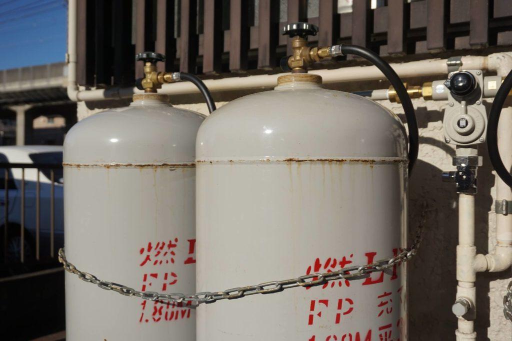 プロパンガスは都市ガスよりも高い傾向にある