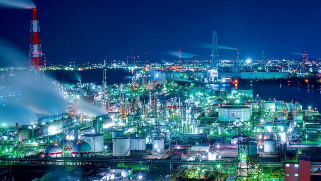 天然ガスの取引量と用途