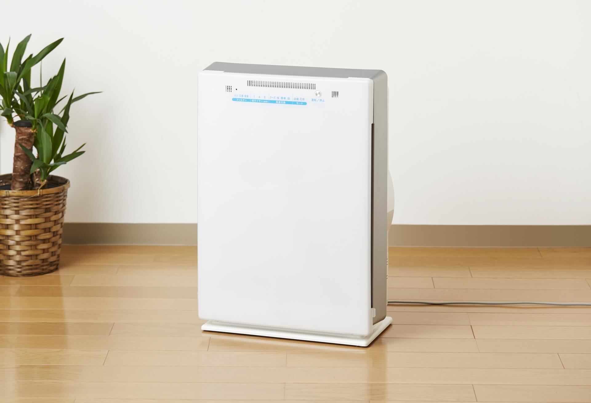 空気清浄機の種類と選び方