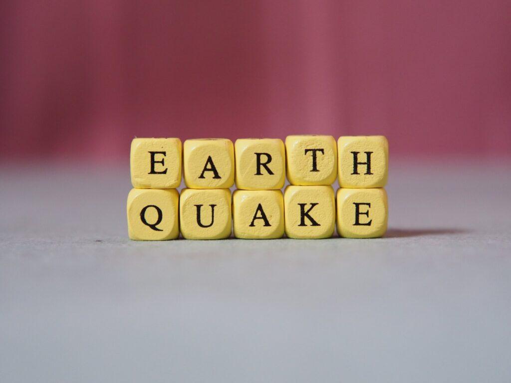大地震発生
