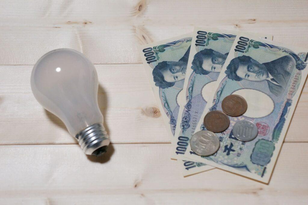 固定費削減のポイント2:水道光熱費